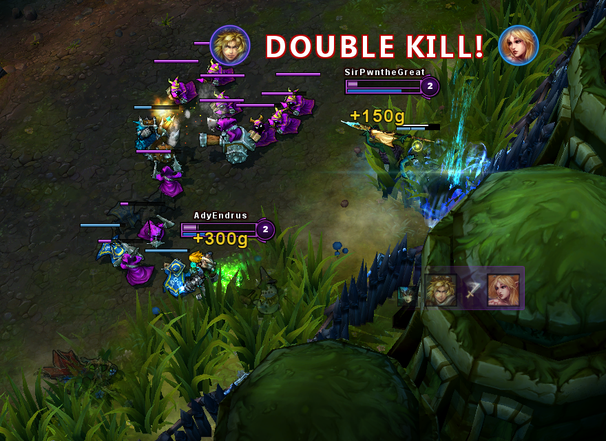 1032 Ezreal All Hope Lost, Double Kill